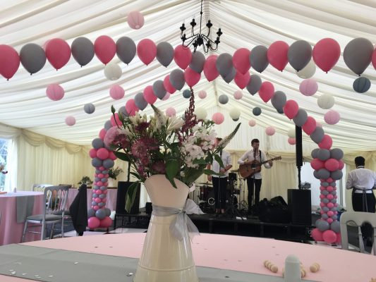 wedding marquee decoration